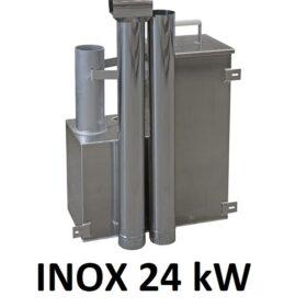 Soba interior Inox 24kW